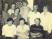 "Yaxley ""Three Horseshoes"" dart team"