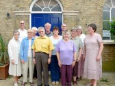 Members of the Yaxley Community Archive Group and St. B's