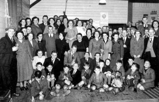 Members & families at the TA club