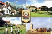 Postcard of Yaxley
