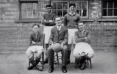 Four pupils from Yaxley Endowed Boys School