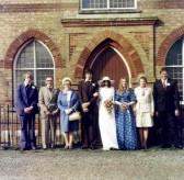 Wedding of Brian Strickson & Miss Norma Stratton