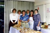 Yaxley W.I. Members at their Craft event, 1991