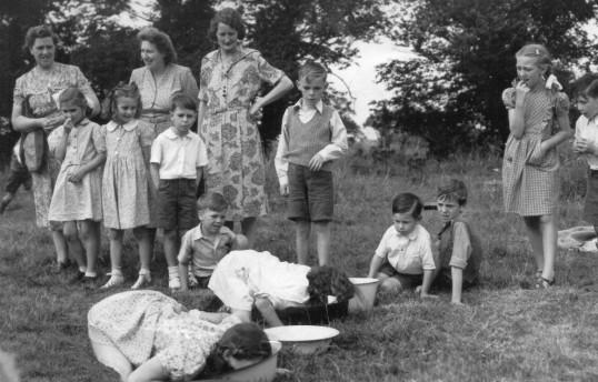 Garden Fete at Vicarage 1950