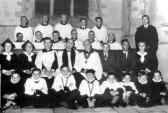 St Peters Church, Yaxley choir
