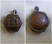 Cigarette lighter made by German POW at Yaxley camp