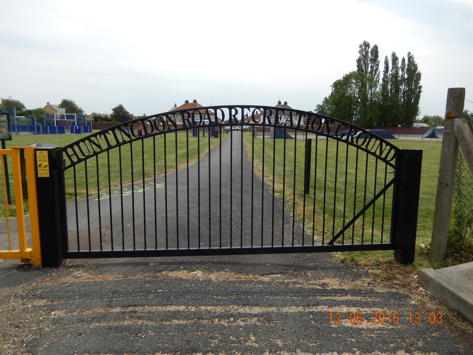 Gates to Park Huntingdon Road Chatteris | Other parks