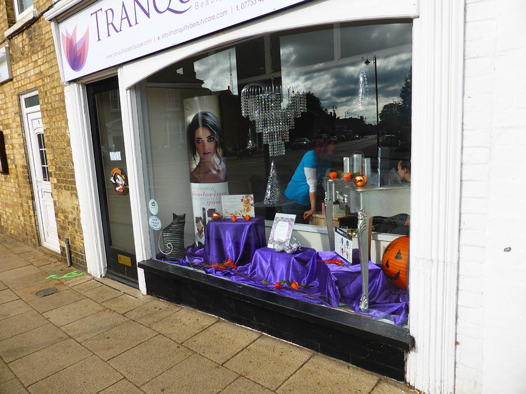 Halloween Shop Displays.Halloween Display In Chatteris Shops Buildings Shops Urban Towns