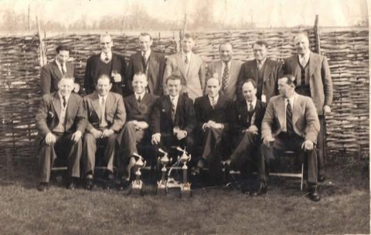 The Chequers Pub Dart Team at Wimpole Park  Cottenham