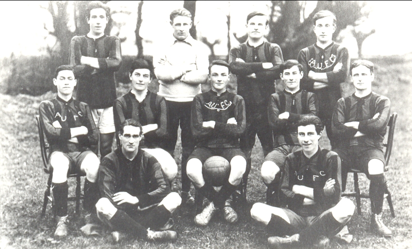 Aldreth United Football Club 1920s Ball Groups Male Sporting