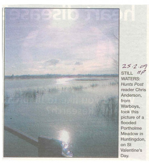 Floods On Port Home Meadow Source Hunts Post Newsworthy Rural