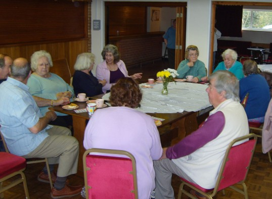 The Pymoor Social Club held a Coffee Afternoon to raise
