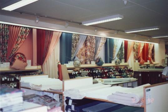 Robert Sayle Curtain Fabric Department Display Wall