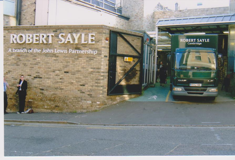 Entrance to Robert Sayle from St Tibbs Row | Buildings