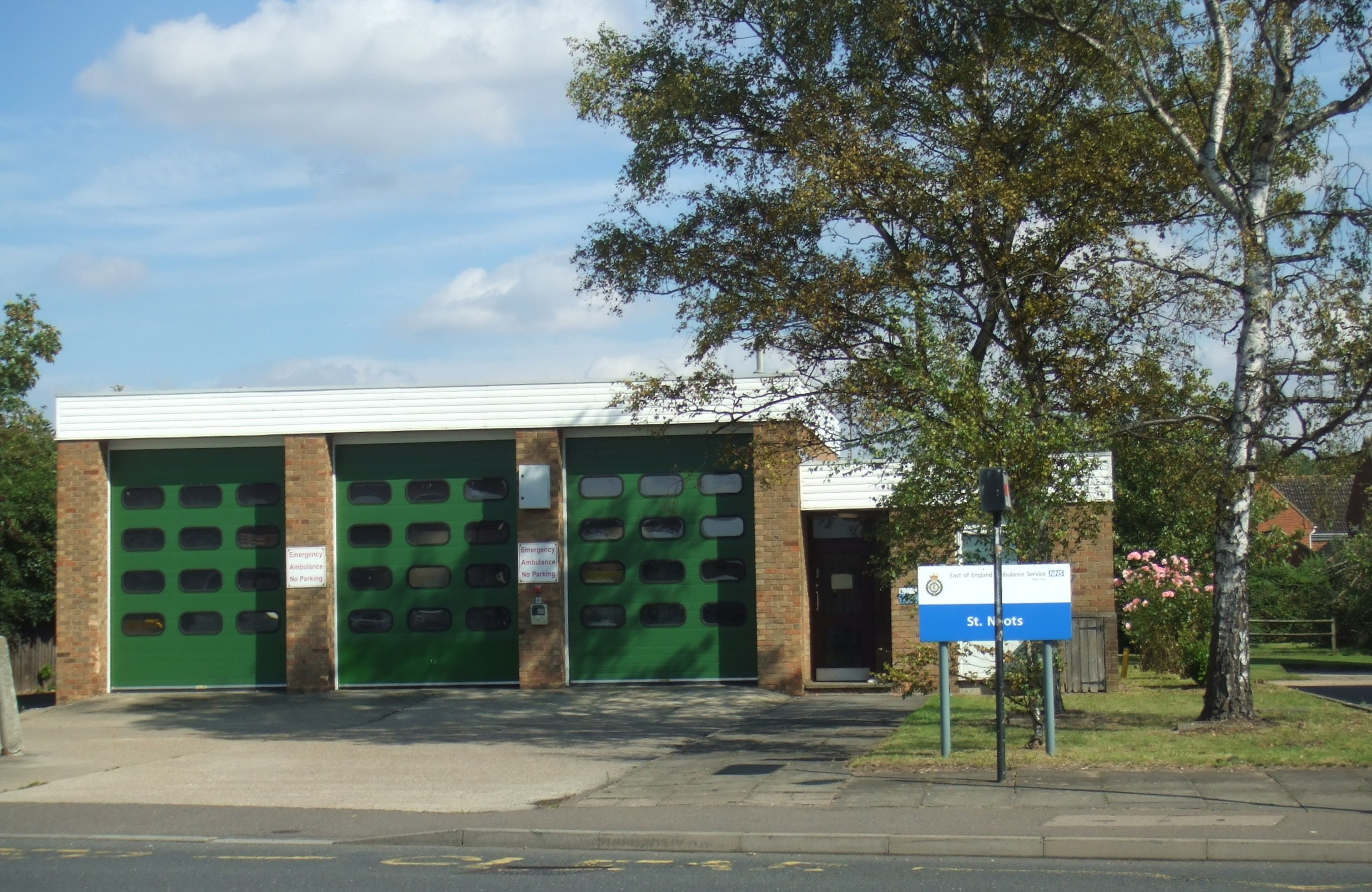 Ambulance Station In Huntingdon Street St Neots In August