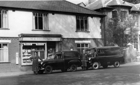 f8ee889cd2 Budd the baker s van outside their shop - around 1958