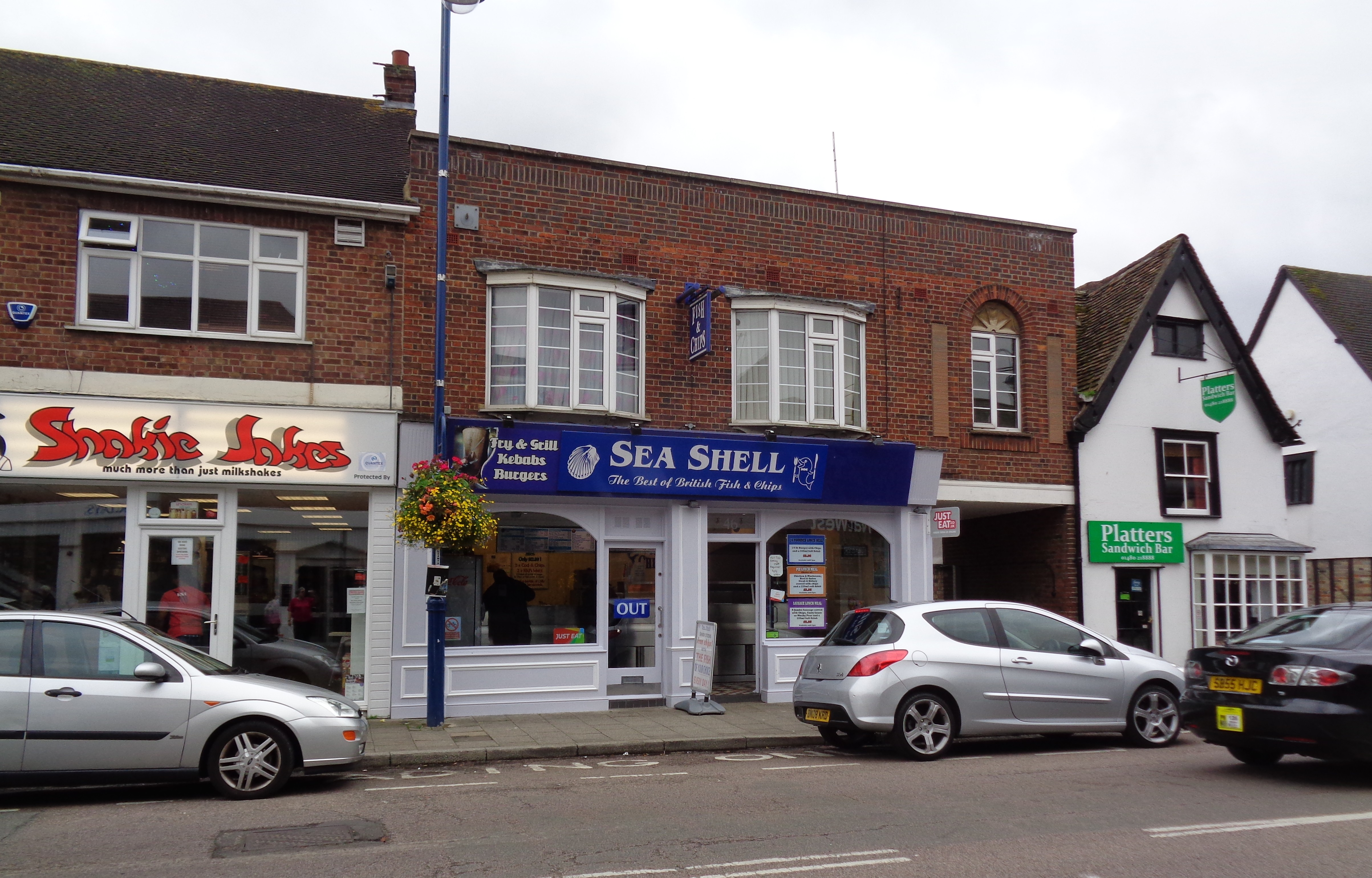 Sea Shell Fish And Chip Shop 10th September 2017 High