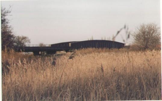 The 130 year old steel bridge ...